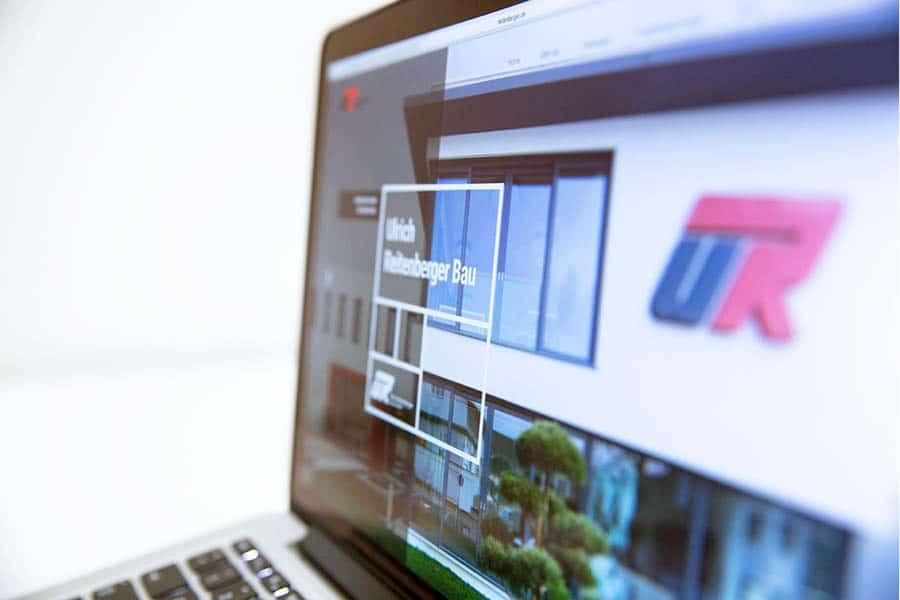 UR-Bau Website