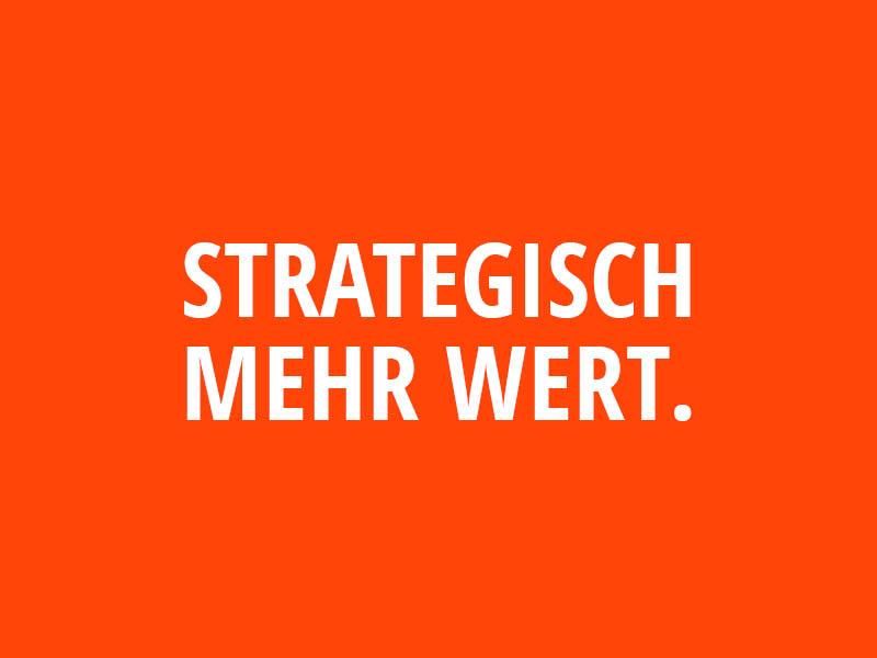 Strategisch mehr wert