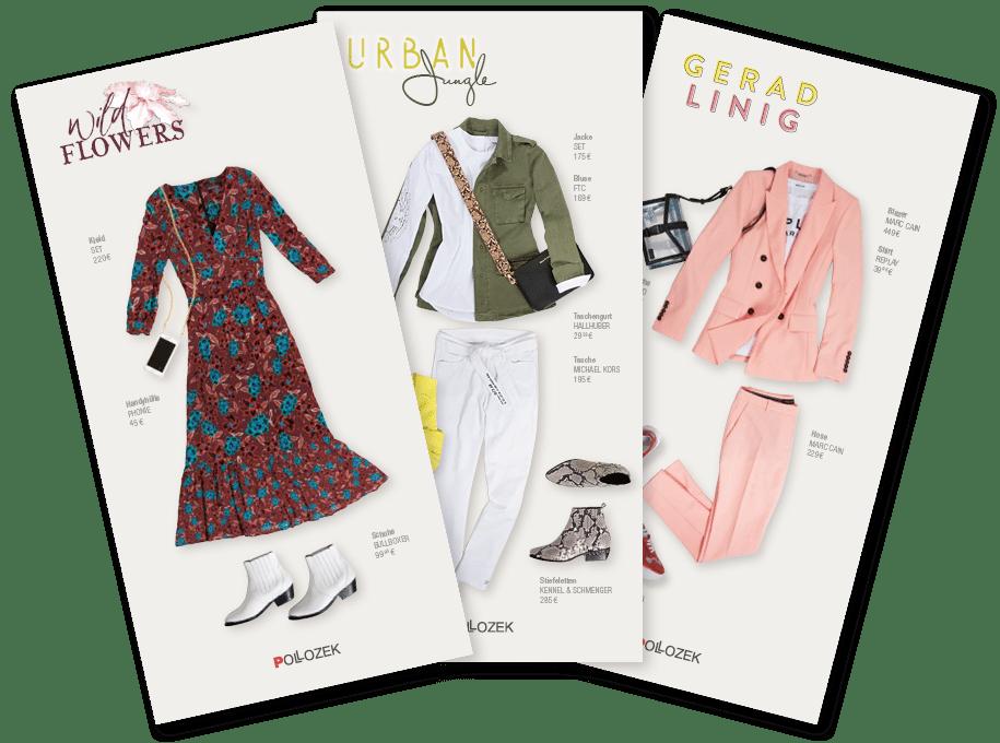 Outfit-Karten